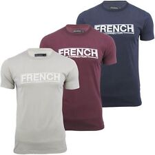 French Connection/ FCUK T-Shirt 'FC Stamp' Short Sleeved