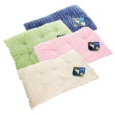 Furhaven Pet Products Curly Fur Plush Pillow Dog Bed available in 5 size & color