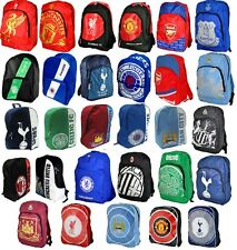 OFFICAL FOOTBALL CLUB TEAM - LARGE BACKPACK BAG RUCKSACK KIDS SCHOOL GIFT XMAS