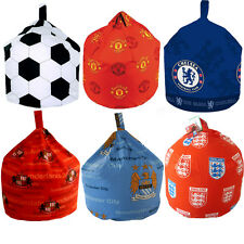 Childrens Kids Boys Football Design Bedroom Chair Beanbag Bean Bag COVER ONLY