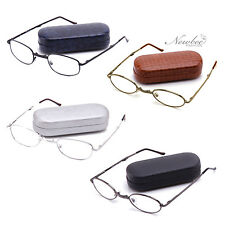 2 Pack Foldable Reading Glasses Hard Case & Cloth Included Many Strengths