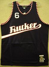 "Rucker ""Stars"" Throwback Basketball Jersey - Blue - Stall & Dean - NWT All Sizes"