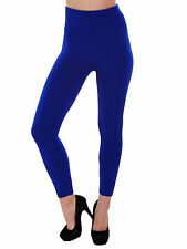 Women High Waist Seamless Solid Color Leggings Pants Black Friday ads