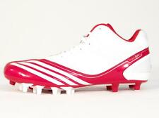 Adidas Scorch Thrill Super Mid White & Red Football Cleats Shoes Mens NWT