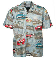 Ford Mustang Classic 60's Cars Camp Hawaiian Shirt, David Carey