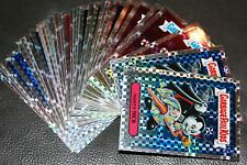 GARBAGE PAIL KIDS CHROME X FRACTOR REFRACTOR U PICK CARDS 37-41A/B + LOST 1-14