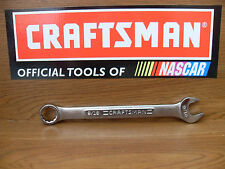 NEW CRAFTSMAN 12 POINT SAE OR METRIC COMBINATION WRENCH~ CHOOSE SIZE FREE SHIP