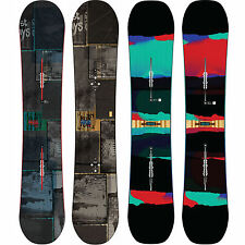 Burton Process Flying V Twin Rocker Freestyle Snowboards  ICS Channel 2013-2015