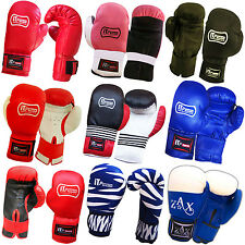 JUNIOR BOXING GLOVES SPARRING PUNCH BAG GRAPPLING MITTS GLOVES CHILDREN,ADULTS
