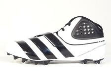 Adidas Malice Fly TD Black & White Football Cleats Molded Cleats Mens NWT