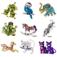 Hot Fashion Party Jewellery Brooch Pins Animals 9 Styles Option Christmas Gifts