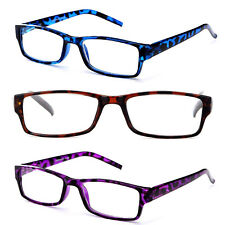 2 Pair Women Transluscent Giraffe Print Reading Glasses Readers 3 Colors