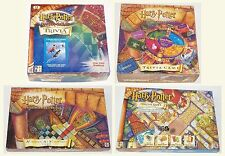 Harry Potter Mystery At Hogwarts & Philosopher's Trivia Diagon Alley Board Game