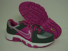 NEW Girls Kids Youth NIKE T-Run 5 443988 004 Stealth Grey Pink Sneakers Shoes