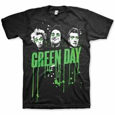 GREEN DAY Drips T-shirt (Black) Mens New 'Official'