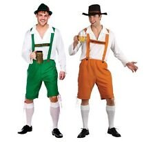 Oktoberfest Bavarian Beer Man Guy  Funny Uniform Fancy Dress Costume