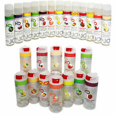 System Jo Water Based Flavored Personal Sex Lubricant Lube-All Sizes and Flavors