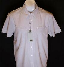 Bnwt Authentic Mens Wrangler Short Sleeve Striped Shirt RRP£59.99 New
