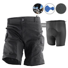 Baggy Bike Bicycle Cycling Knicks Padded Shorts inner removable