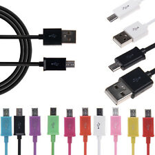 Micro USB Data Charging Sync Cable Cord for Samsung Galaxy S2 S3 S4 HTC Sony LG