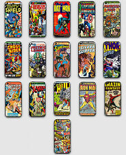 PHONE CASE IPHONE 4/4S 5 5C 5S GALAXY S3 S4 SPIDERMAN BATMAN MARVEL DC COMICS