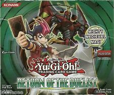 Yu-gi-oh Return Of The Duelist - REDU Rare Cards Mint Selection You Choose