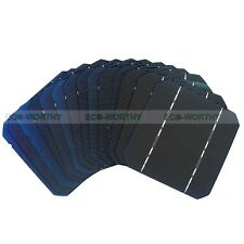 5x5 Mono Solar Cells Kit 125x125MM High Power for DIY Solar Panel 2.6W/pc Toy