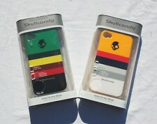 2014 NIB SKULLCANDY ARMOR FOR YOUR IPHONE 4 STRIPE CLIP ON $35 screen protector