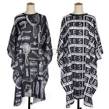 Pro Salon Barbers Hairstylist Hairdressing Coloring Hair Cutting Gown Cloth Cape