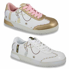 Southpole Ladies Sneakers Shoes Sport Leisure Casual Lifestyle 2 Color UK 3-9