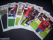 2013/14 YORK HOME PROGRAMMES CHOOSE FROM