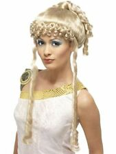 Greek Goddess Wig, Blonde, with Ringlets Wig Fancy Dress Costume Party Accessory