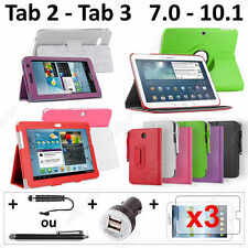 Pack Accessoire Housse Protection Tablette Samsung Galaxy Tab 7.0 8.0 10.1 10""