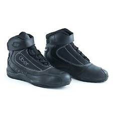 Uber Centro Shorty Black Motorcycle/Bike/Motorbike Commuter/Track Day Boots