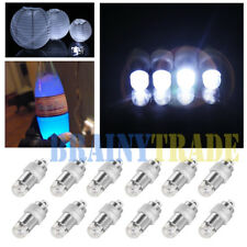 12 x Submersible LED Light Floral Paper Lantern Balloon Wedding Party Decoration