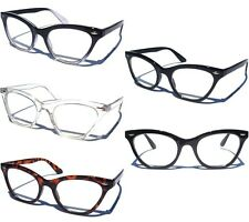 CAT EYE Clear Lens Glasses Retro Sexy Cool Vintage Design Frame Eyeglasses NEW