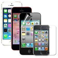 3x Ultra Clear Screen Protector Film for Apple iphone 3gs 4 4s 5 5s 5C