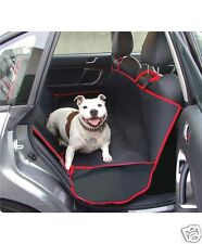 CAR REAR SEAT PROTECTOR COVER - PET~DOG~CAT  - BLACK NEW