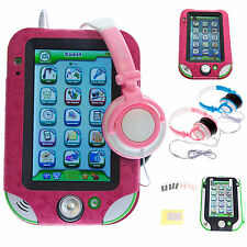 Leather PU Case with Stand with Headphones + Screen Protectors for LeapPad Ultra