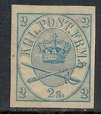 Denmark 1864 YV 11 Imperforated  MLH  VF