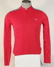 Pearl Izumi Select Series Red 3/4 Zip Long Sleeve Cycling Jersey Mens Biking NWT