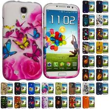 For Samsung Galaxy S4 i9500 Hard Case Design Snap-On Rubberized Cover Accessory