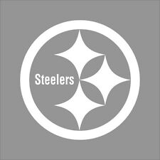 Pittsburgh Steelers NFL Team Logo 1 Color Vinyl Decal Sticker Car Window Wall