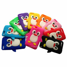 1pc Soft 3D Cute Penguin Gel Silicone Case Cover For Ipod Touch 2 3 2G 3G Gen