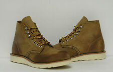 "Red Wing Heritage 6"" Round Toe ""Made in USA"" Boots Shoes 8181 Mens 7.5~11.5"