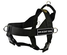 DT Universal No Pull Working Dog Harness with Velcro Patch AIR-SCENT DOG