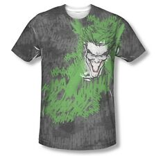 Batman Joker Whats So Funny DC Comics Sublimation Adult Shirt S-3XL