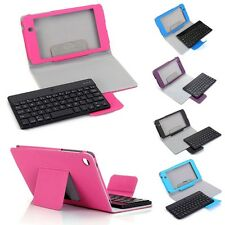 For 2013 Google Nexus 7 FHD 2nd Gen Case Cover with Removable Bluetooth Keyboard
