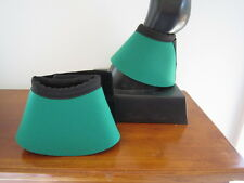 Horse Bell or Overreach Boots Dark Green & Black AUSTRALIAN MADE Protection