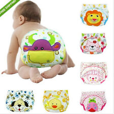 Baby Boy Girl Infant Kid Toilet Pee Potty Training Pants Cloth Diaper Underwear